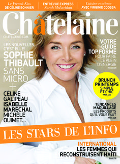 Numéro d'avril 2011 #SophieThibault #Starsdelinfo