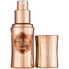 Benefit Cosmetics dew the hoola soft-matte liquid bronzer for face (€26) ❤ liked on Polyvore featuring beauty products, makeup, cheek makeup, cheek bronzer, beauty, bronzer, cosmetics, fillers and no color