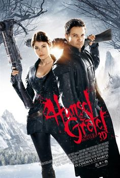 Hansel and Gretel Witch Hunters -Movie Poster -EDFD Love the steampunk vibe this movie has and very funny!