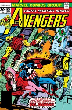 AVENGERS #156 • 1977 • The Private War Of Doctor Doom • Jim Shooter, Sal Buscema • Jack Kirby