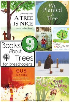 About Trees for Preschoolers children's books about trees for kids! Fun books for preschoolers that teach them about trees and the environmentchildren's books about trees for kids! Fun books for preschoolers that teach them about trees and the environment Preschool Books, Preschool Activities, Activities For Kids, Nature Activities, Science Books, Reading Activities, Trees For Kids, Tree Study, Arbour Day