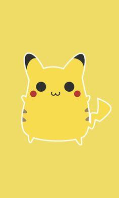 Chubby Pikachu by eva on pixiv