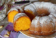 Ciambella golosa mandorle e carote con il frullatore o con il Bimby,un dolce goloso facile da fare, 5 minuti e via in forno.Torta umida e golosa senza burro