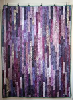Quick Charity Quilts series--Jelly Roll 1600 or Lasagna quilt | Minneapolis Modern Quilt Guild