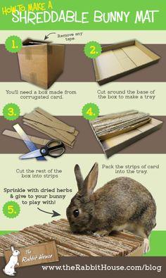 DIY bunny toy