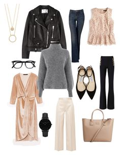 In the mood for à soft spring by charlotte-144 on Polyvore featuring polyvore, fashion, style, Warehouse, J.Crew, Acne Studios, The Row, 10 Crosby Derek Lam, Simply Vera, Jimmy Choo, MANGO, Kate Spade, CLUSE and clothing