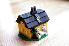 Villa LEGO Microscale backyard