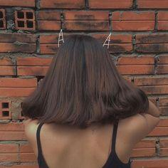 ༺𝓈𝒶𝓎𝒶𝓇𝑒𝓈☾༻ Aesthetic People, Aesthetic Hair, Hair Inspo, Hair Inspiration, Peinados Pin Up, Girl Short Hair, Ulzzang Girl, Hair Looks, Girl Hairstyles