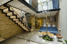 Completed in 2016 in Hanoi, Vietnam. Images by Nguyễn Quốc Anh. From the architect. Separated from the noisy city, the house is humbly ensconced in a small alley on Hoang Van Thai Street, Hanoi. With an area of...