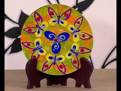 Como Pintar un Sombrero con Acuarelas- HogarTv por Juan Gonzalo Angel - YouTube