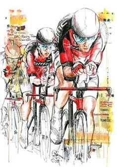 Richmond 2015 BMC-Racing Team repeat World Championships TTT succes by Horst Brozy