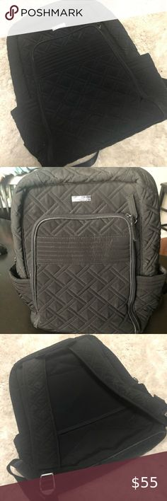 Vera Bradley Campus Backpack Good Condition. See wear on inside - priced accordingly Vera Bradley Bags Backpacks