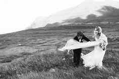 Fun wedding portraits by Samm Blake