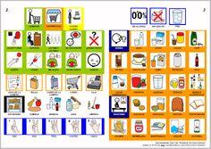 MATERIALES - Libros de Comunicación Aumentativa y Alternativa: Libro de tiendas 3. http://arasaac.org/materiales.php?id_material=553