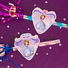 Sofia the First Noisemaker decorations