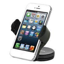 iOttie Windshield Dashboard Car Mount Holder for iPhone 5 4S 4 3GS Samsung Galaxy S4 S3 S2 Epic Touch 4G HTC One X EVO 4G Rhyme DROID RAZR BIONIC INCREDIBLE 2 CHARGE Google BlackBerry Torch LG Revolution GPS Compact Size 360 degree Rotatable $12.99