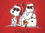 Snoopy T-Shirt - Christmas Chillin'