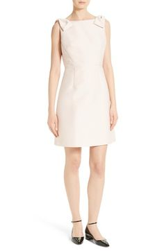 kate spade new york double bow a-line dress available at #Nordstrom