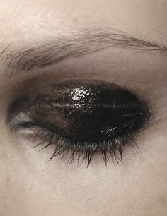 Makeup at Givenchy Haute Couture, A/W 2007.