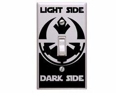 Light vs Dark https://www.etsy.com/listing/230906561/star-wars-decals-star-wars-light-switch