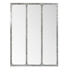 Miroir triple en métal H 80 cm LANESTER