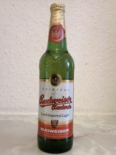 Budweiser Budvar - Czech Beer...Don't like so much