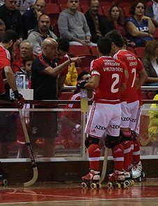 Hóquei em Patins: Benfica bem encaminhado para revalidar o título de campeão (2015/16).