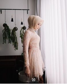 Discover recipes, home ideas, style inspiration and other ideas to try. Model Kebaya Muslim, Kebaya Modern Hijab, Model Kebaya Modern, Kebaya Hijab, Muslim Dress, Hijab Gown, Hijab Dress Party, Kebaya Lace, Kebaya Dress
