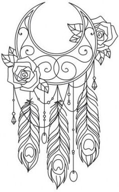 Dreamcatcher Mandala Coloring Pages. 30 Dreamcatcher Mandala Coloring Pages. Dreamcatcher Coloring Page by Felicity French Paper Embroidery, Hand Embroidery Designs, Embroidery Patterns, Sashiko Embroidery, Embroidery Stitches, Machine Embroidery, Embroidery Tattoo, Doily Patterns, Dress Patterns
