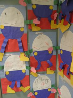Humpty Dumpty preschool craft