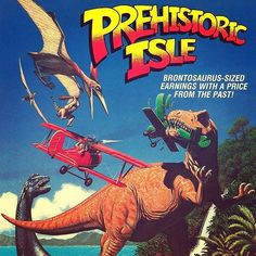 Prehistoric Isle in 1930 - Vote for it: - Prehistoric Isle in 1930 is a horizontally scrolling shooting video game. The player takes control of a biplane armed with a forward-firing machine gun and can also be equipped with an optionweapon pod. Vintage Video Games, Classic Video Games, Retro Video Games, Retro Games, Playstation, History Of Video Games, Super Mario Land, Nintendo, Pc Engine
