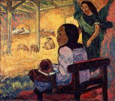 Paul Gaugin (séc. XIX) http://www.snpcultura.org/vol_representacoes_natal_arte_crista.html