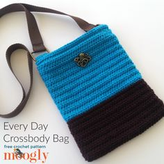 Every Day Crossbody Bag | moogly | Bloglovin'