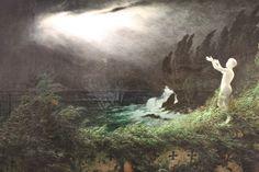 Karl Wilhelm Diefenbach ~ Symbolist and Art Nouveau painter Moonlight Painting, Digital Museum, 10 Picture, Fantastic Art, Pictures Of You, Art Nouveau, Art Gallery, Symbols, Museums