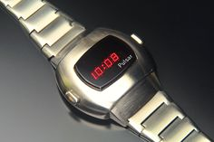 Pulsar P3 (Stainless) Wristwatches, Mid-century Modern, Art Deco, Mid Century, Led, My Favorite Things, Cool Stuff, Retro, Vintage
