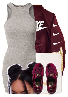 """Location X Bomber❤️"" by jayzhee ❤ liked on Polyvore featuring NLY Trend, Prada and Puma"