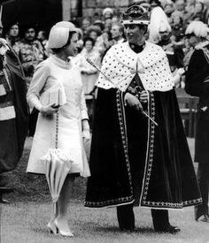 The investiture of The Prince of Wales, during which the 20-year-old Prince received the insignia as the 21st Prince of Wales from The Queen, took place on 1st July 1969, at Caernarfon Castle in front of 4,000 guests inside the medieval walls.