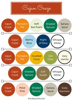 Color Inspiration - Part 5 - Mackenzie Makes Scheme Color, Paint Color Combos, Color Schemes Colour Palettes, Color Palate, Color Combinations, Colour Combo, Stampin Up, Stampin Pretty, Colours That Go Together