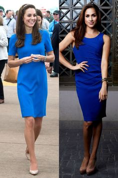 Meghan Markle and Kate Middleton Are Fashion Twins - Kate and Meghan Style Photos