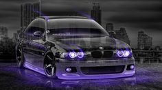 BMW M5 Tuning 3D Crystal City Car 2015
