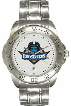 East Tennessee State University Buccaneers Mens Sports Steel Watch by SunTime. $49.95