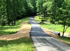 Reynolds Contracting offers earthwork and residential driveway repair for the Central Virginia area. Driveway Repair, Virginia, Sidewalk, Pavement, Curb Appeal