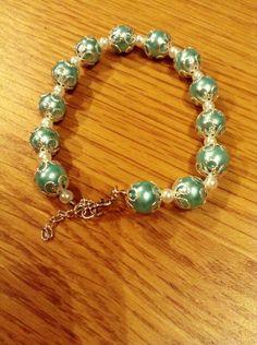 Sea blue in my heart My Heart, Sea, Bracelets, Blue, Jewelry, Bangles, Jewellery Making, Arm Bracelets, Jewelery