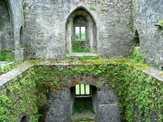 Castle Windows just below the Blarney Stone on the top level.
