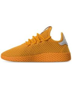 the best attitude 30800 17d20 adidas Big Boys  Pharrell Williams Tennis HU Casual Sneakers from Finish  Line   Reviews - Finish Line Athletic Shoes - Kids - Macy s