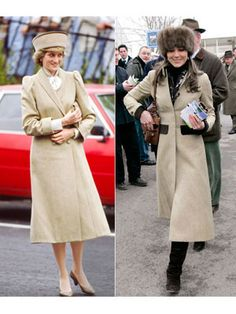 compare princess di with kate middleton | Princess Diana : At a Remploy event in Coventry in 1985.