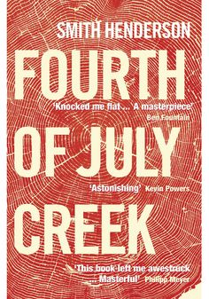 In Smith Henderson's Fourth of July Creek, Pete Snow is a social worker in rural northwest Montana. Poverty and its terrible side effects—violence, drugs, various strains of fanaticism—plague his clients.