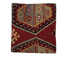 Funda de cojín kilim de lana y algodón Aisha - 40x40 cm