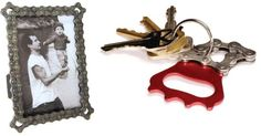 recycled bicycles into cool, green gifts like this photo frame & key ring. - Google Search