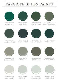 Benjamin Moore Storm, Benjamin Moore Green, Green Bay, Bright Green, Blue Green, Estudio Mcgee, Dunn Edwards Paint, Green Paint Colors, Color Paints